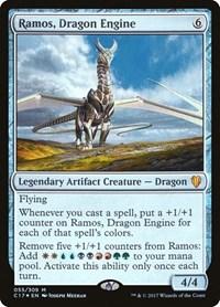 Ramos, Dragon Engine, Magic: The Gathering, Commander 2017