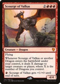 Scourge of Valkas, Magic: The Gathering, Commander 2017