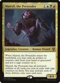 Mairsil, the Pretender, Magic, Commander 2017