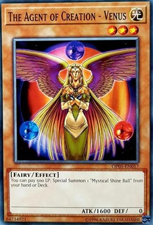 The Agent of Creation - Venus, YuGiOh, OTS Tournament Pack 5