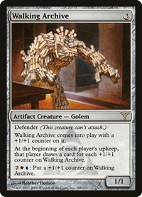 Walking Archive, Magic: The Gathering, Dissension