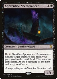 Apprentice Necromancer, Magic: The Gathering, Commander 2017