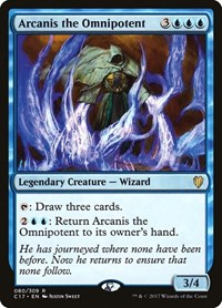 Arcanis the Omnipotent, Magic: The Gathering, Commander 2017