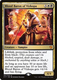 Blood Baron of Vizkopa, Magic: The Gathering, Commander 2017