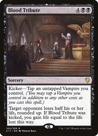 Blood Tribute, Magic: The Gathering, Commander 2017