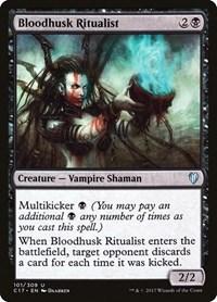 Bloodhusk Ritualist, Magic: The Gathering, Commander 2017