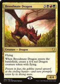 Broodmate Dragon, Magic, Commander 2017