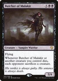 Butcher of Malakir, Magic: The Gathering, Commander 2017