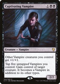 Captivating Vampire, Magic, Commander 2017