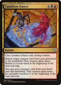 Cauldron Dance, Magic: The Gathering, Commander 2017