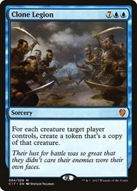Clone Legion, Magic: The Gathering, Commander 2017