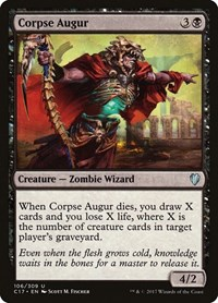 Corpse Augur, Magic: The Gathering, Commander 2017