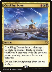 Crackling Doom, Magic: The Gathering, Commander 2017