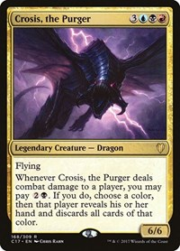 Crosis, the Purger, Magic: The Gathering, Commander 2017
