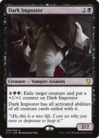 Dark Impostor, Magic: The Gathering, Commander 2017