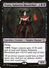 Drana, Kalastria Bloodchief, Magic: The Gathering, Commander 2017