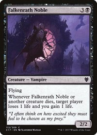Falkenrath Noble, Magic, Commander 2017
