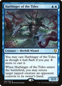 Harbinger of the Tides, Magic: The Gathering, Commander 2017