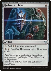 Hedron Archive, Magic, Commander 2017