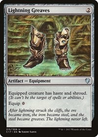 Lightning Greaves, Magic, Commander 2017