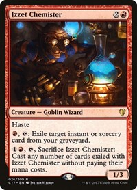 Izzet Chemister, Magic: The Gathering, Commander 2017