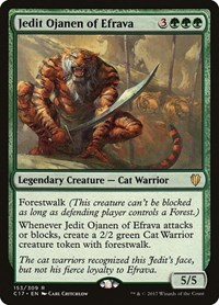 Jedit Ojanen of Efrava, Magic: The Gathering, Commander 2017