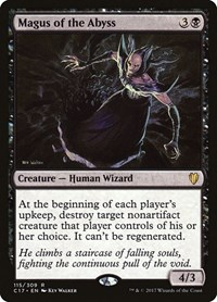 Magus of the Abyss, Magic: The Gathering, Commander 2017
