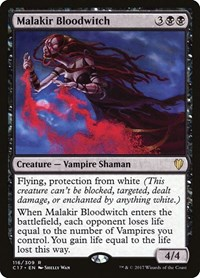 Malakir Bloodwitch, Magic: The Gathering, Commander 2017