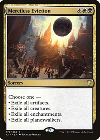 Merciless Eviction, Magic: The Gathering, Commander 2017