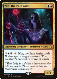 Nin, the Pain Artist, Magic: The Gathering, Commander 2017