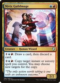 Nivix Guildmage, Magic: The Gathering, Commander 2017