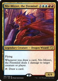 Niv-Mizzet, the Firemind, Magic: The Gathering, Commander 2017