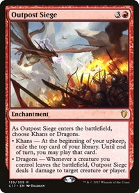 Outpost Siege, Magic: The Gathering, Commander 2017