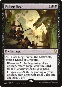 Palace Siege, Magic: The Gathering, Commander 2017