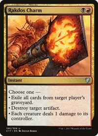 Rakdos Charm, Magic: The Gathering, Commander 2017