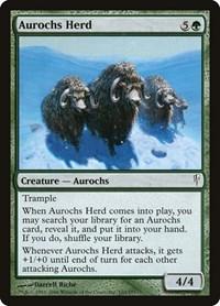 Aurochs Herd, Magic: The Gathering, Coldsnap