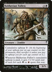 Balduvian Fallen, Magic: The Gathering, Coldsnap