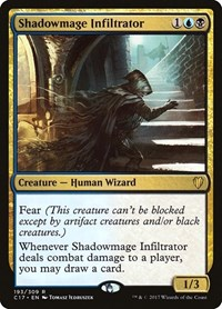 Shadowmage Infiltrator, Magic: The Gathering, Commander 2017