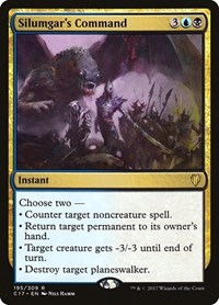 Silumgar's Command, Magic: The Gathering, Commander 2017