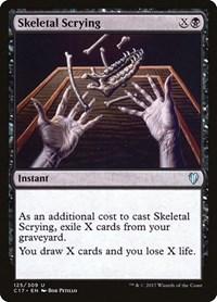 Skeletal Scrying, Magic, Commander 2017