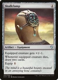 Skullclamp, Magic: The Gathering, Commander 2017