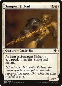 Sunspear Shikari, Magic: The Gathering, Commander 2017