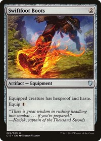 Swiftfoot Boots, Magic: The Gathering, Commander 2017