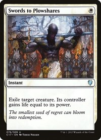 Swords to Plowshares, Magic: The Gathering, Commander 2017