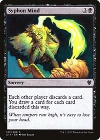 Syphon Mind, Magic: The Gathering, Commander 2017