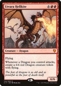 Utvara Hellkite, Magic: The Gathering, Commander 2017