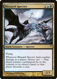 Blizzard Specter, Magic: The Gathering, Coldsnap