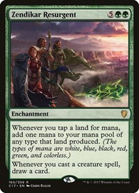 Zendikar Resurgent, Magic: The Gathering, Commander 2017