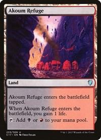 Akoum Refuge, Magic: The Gathering, Commander 2017