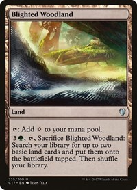Blighted Woodland, Magic: The Gathering, Commander 2017